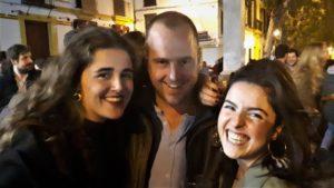Jan Hendrik bezocht Sevilla in Spanje