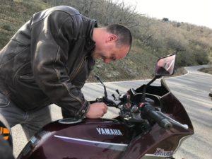 Jan Hendrik miste de bocht op zijn motor in Zuid-Spanje.