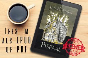 Pispaal een debuutroman van auteur Jan Hendrik, is gratis te lezen op de E-reader als Epub of als PDF