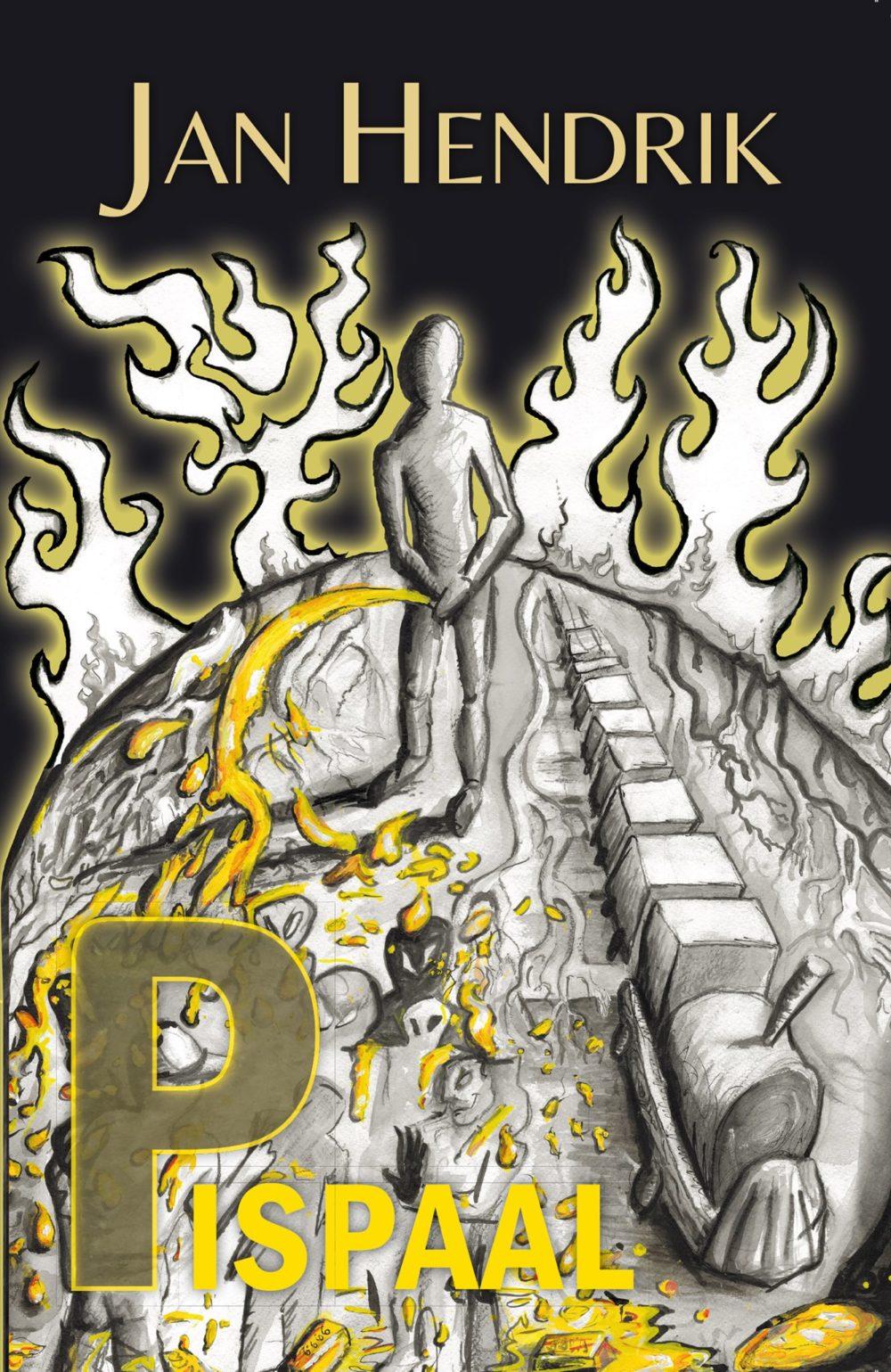 De cover / titelpagina / omslag van het boek Pispaal, geschreven door Jan Hendrik