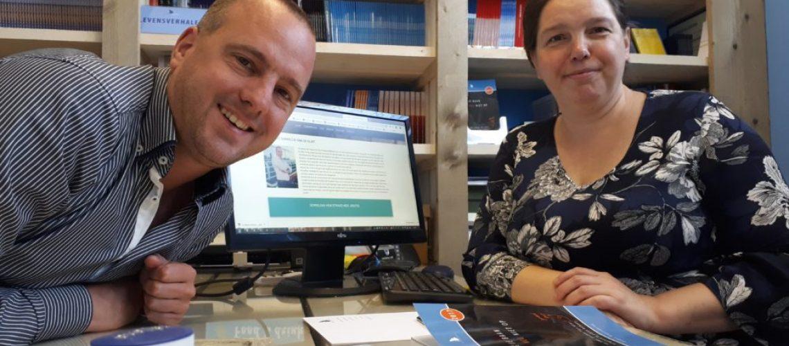 Jan Hendrik en Esther Kraaijenbrink komen tot een overeenkomst.