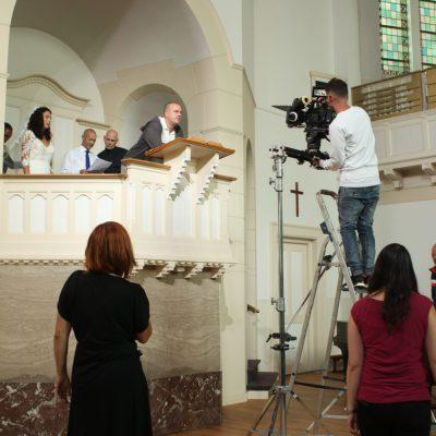 Regisseur Jan Hendrik is een korte film aan het regisseren. Hij ziet het allemaal voor zich.